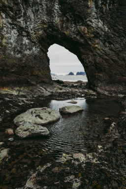Hole-in-the-Wall, Olympic Peninsula, WA